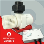 Reef Octopus Varios 8 DC Water Pump 3.75in(W) x 5.7in(L) x 5.5in(H) Max Flow- 2700gph Max Head- 18'