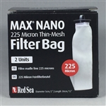 Red Sea Max Nano 225 Micron Thin Mesh Filter Sock (2 Units)
