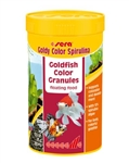Sera Goldy Color Spirulina Goldfish Color Granules 250 ml