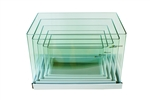 Aqua Japan Bending Rimless Tank Set of 5 Aquariums (PALLET SHIPPING ONLY)