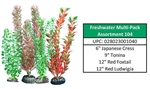 Freshwater Multipack Assortment 104