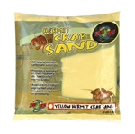 Zoo Med Hermit Crab Sand- Yellow 2 lbs