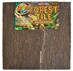 "Zoo Med Natural Forest Tile Bkgrnd (12""x18"") fits NT-2"