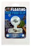 Zoomed Floating Fish Food Clip