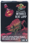 Zoo Med Red Infrared Heat Lamp 100W CSA Approved