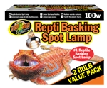 Zoomed Basking Spot 100W Value Pk (2 pack)