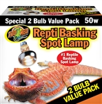 Basking Spot Value Pk 50W (2 pack)
