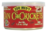 ZooMed Can O' Crickets Mini Size (200 / can)