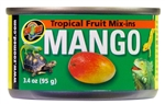 "Zoomed Tropical Fruit ""Mix-ins"" Mango"