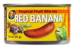 "ZooMed Tropical Fruit ""Mix-ins"" Red Banana"