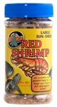 ZooMed Jumbo Red Shrimp (Sun Dried) .5 oz
