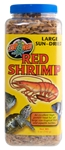 ZooMed Jumbo Red Shrimp (Sun Dried) 5 oz