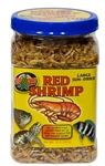 ZooMed Jumbo Red Shrimp (Sun Dried) 10oz